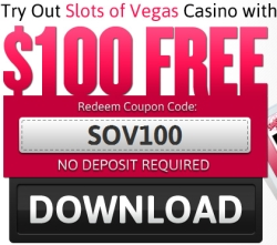 join slots of vegas today and get a no deposit needed $ 100 free slots