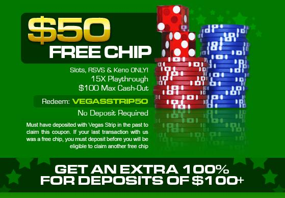 Vegas Strip Casino No Deposit Bonus Codes