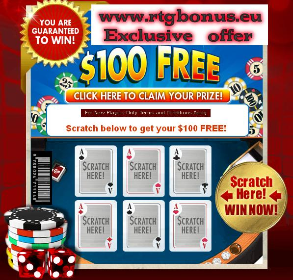 Wild Vegas - Scratch Here for $100 Free